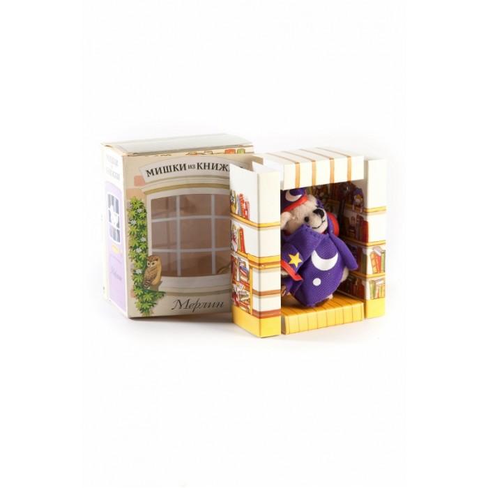 Книжки-игрушки Мишки из книжки Мерлин Книга+игрушечный медведь ирина щукина у медведя на бору книга сказок
