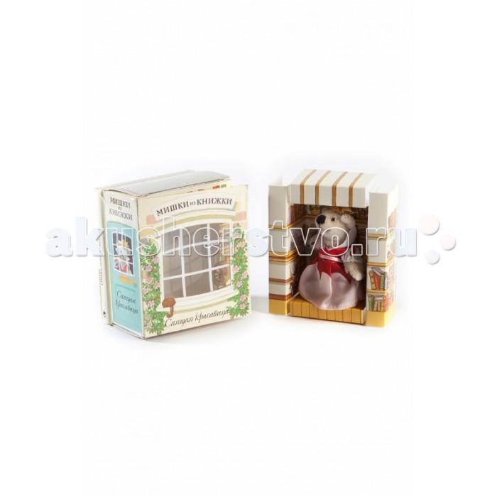 Книжки-игрушки Мишки из книжки Спящая красавица. Книга+игрушечный медведь книжки игрушки мозаика синтез настольный театр спящая красавица