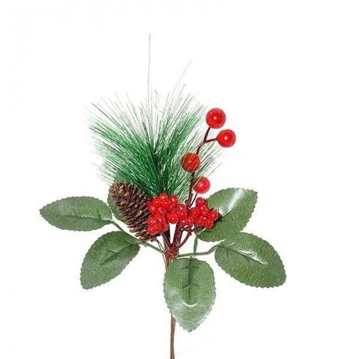 Новогодние украшения Attache Украшение новогоднее Ветка 23 см