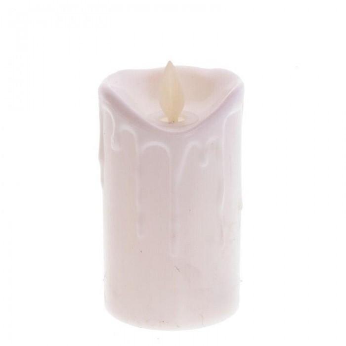 Новогодние украшения Attache Украшение новогоднее Свеча с подсветкой 10 см