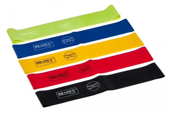 Купить Спортивный инвентарь, Bradex Набор из 5-ти резинок для фитнеса 4/5.5/7/9/11 кг