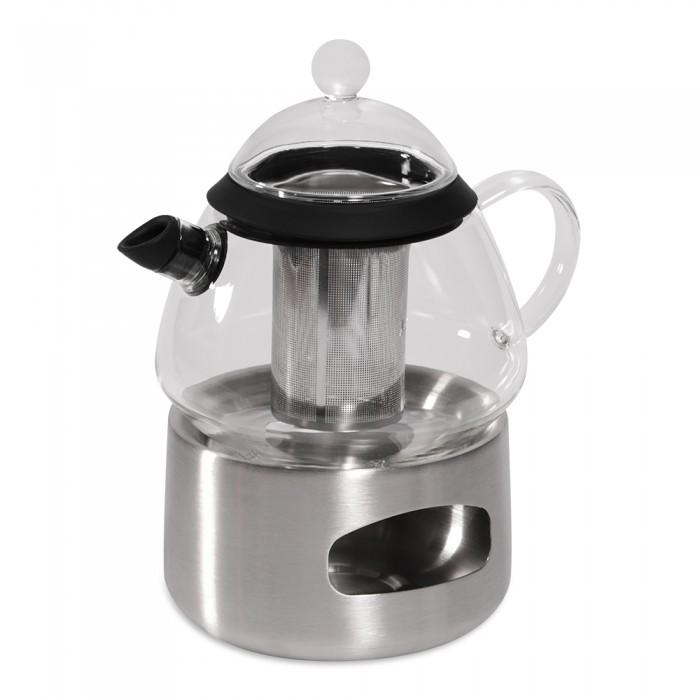 Посуда и инвентарь DOSH | HOME Заварочный чайник Grus с подставкой для подогрева от свечи 0.8 л