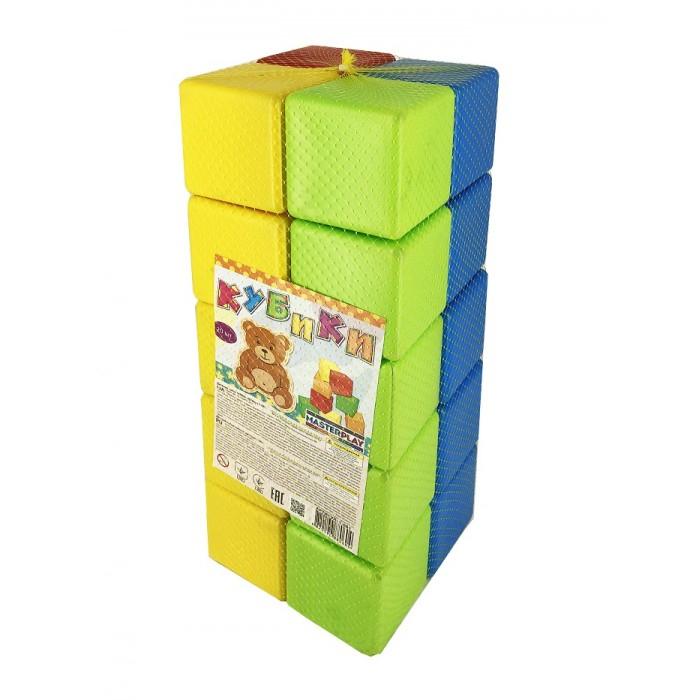 Купить Развивающие игрушки, Развивающая игрушка Colorplast Набор кубиков 20 шт. 1-061