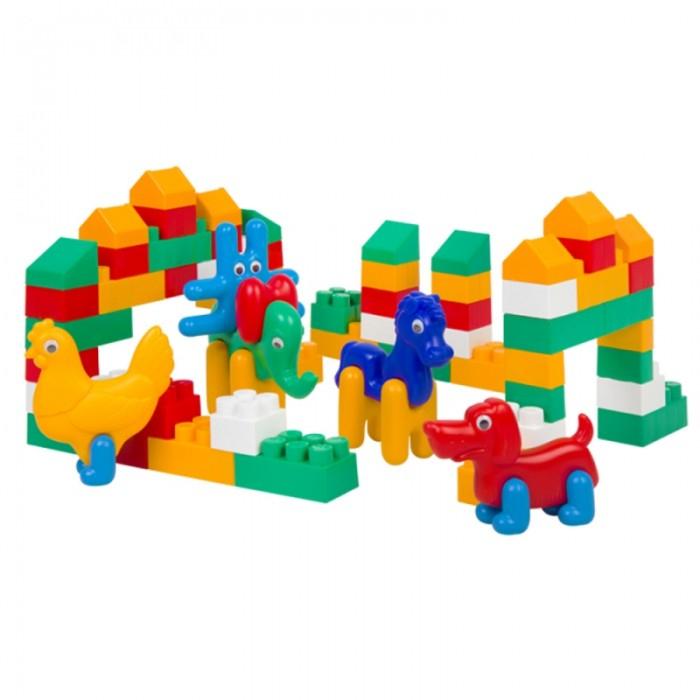 Конструктор Colorplast Зоо Блок №5 (75 деталей)