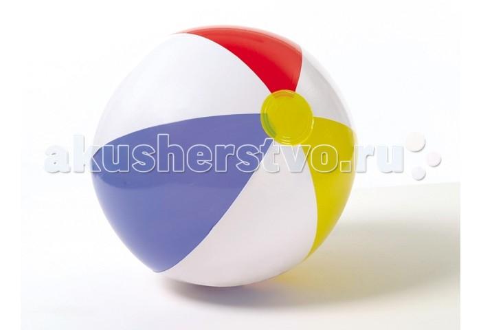где купить Мячики и прыгуны Intex Мяч Полоски цветной 51 см по лучшей цене