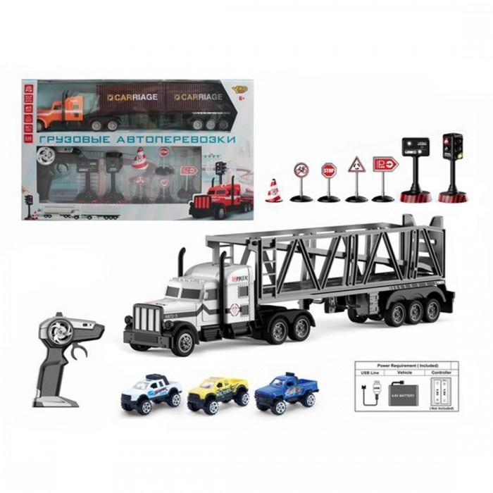 Картинка для Радиоуправляемые игрушки Наша Игрушка Игровой набор Автовоз M1178-4C