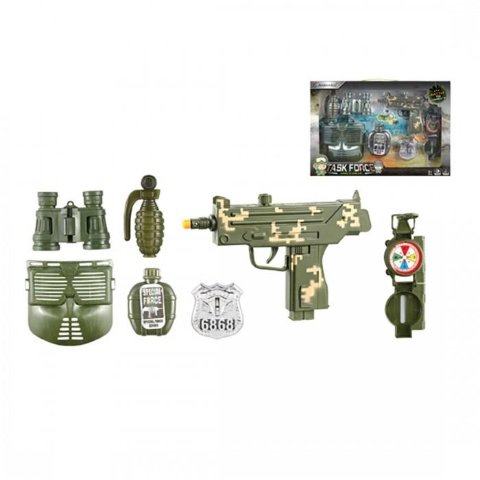 Купить Ролевые игры, Наша Игрушка Игровой набор Военный F8528-1A (7 предметов)