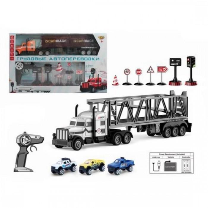 Радиоуправляемые игрушки Наша Игрушка Игровой набор Город машин M1178-24C