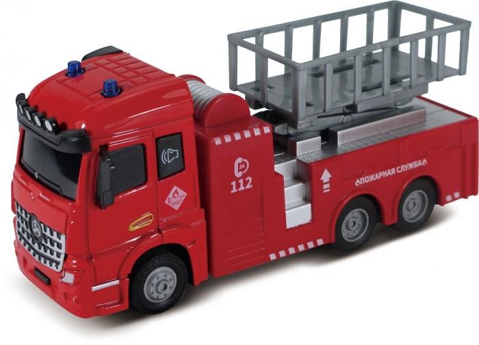 Картинка для Машины Funky Toys Пожарная машина с подъемным механизмом Die-cast