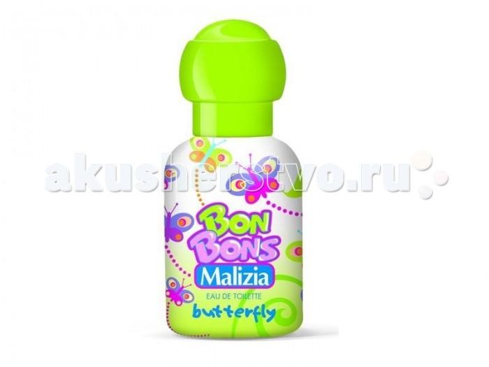 Детская косметика Malizia Туалетная вода Butterfly 50 мл туалетная вода acorelle жемчужина лотоса 30 мл