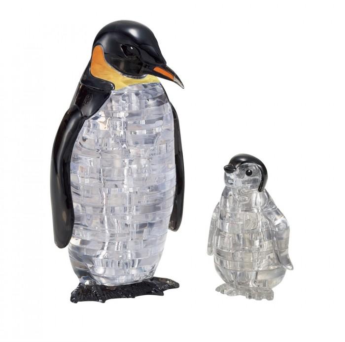 Crystal Puzzle 3D головоломка Пингвины (43 детали).