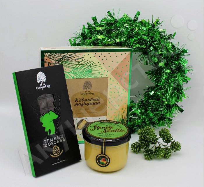 Шоколад НатурВектор Подарочный набор Гринлайн: мед, конфеты, шоколад недорого