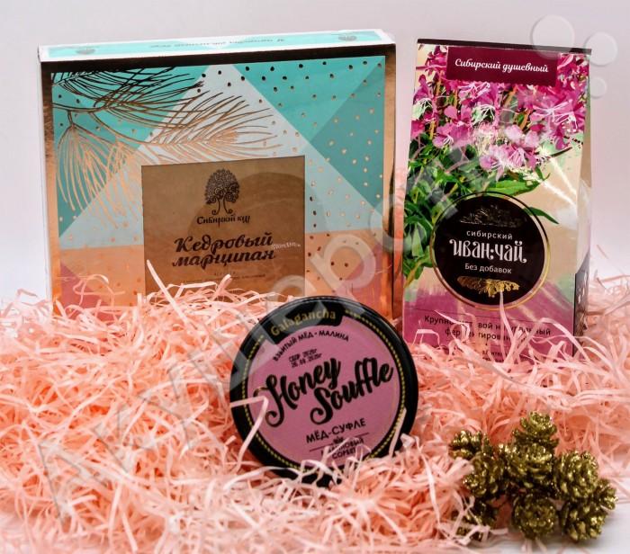 чай Чай НатурВектор Подарочный набор Нежность: чай, мед, конфеты