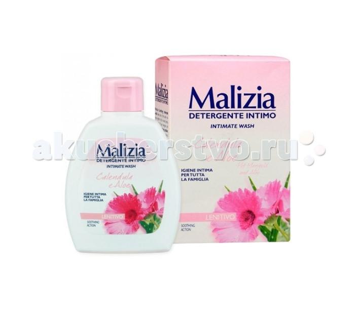 Гигиена для мамы Malizia Гель для интимной гигиены календула и алоэ 200 мл гель babe для интимной гигиены 200 мл