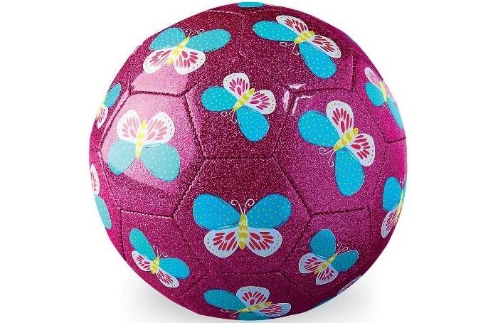Мячи Crocodile Creek Футбольный мяч Бабочки 18 см