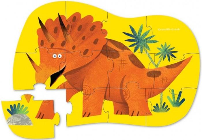 Купить Пазлы, Crocodile Creek Пазл Динозавр (12 деталей) 4118-7