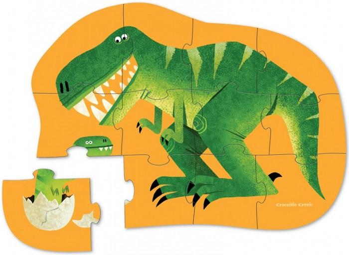 Купить Пазлы, Crocodile Creek Пазл Рекс (12 деталей)