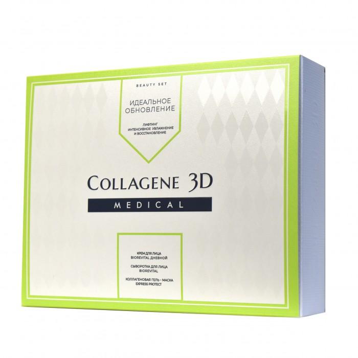 Купить Косметика для мамы, Medical Collagene 3D Подарочный набор для ухода за кожей лица Идеальное обновление