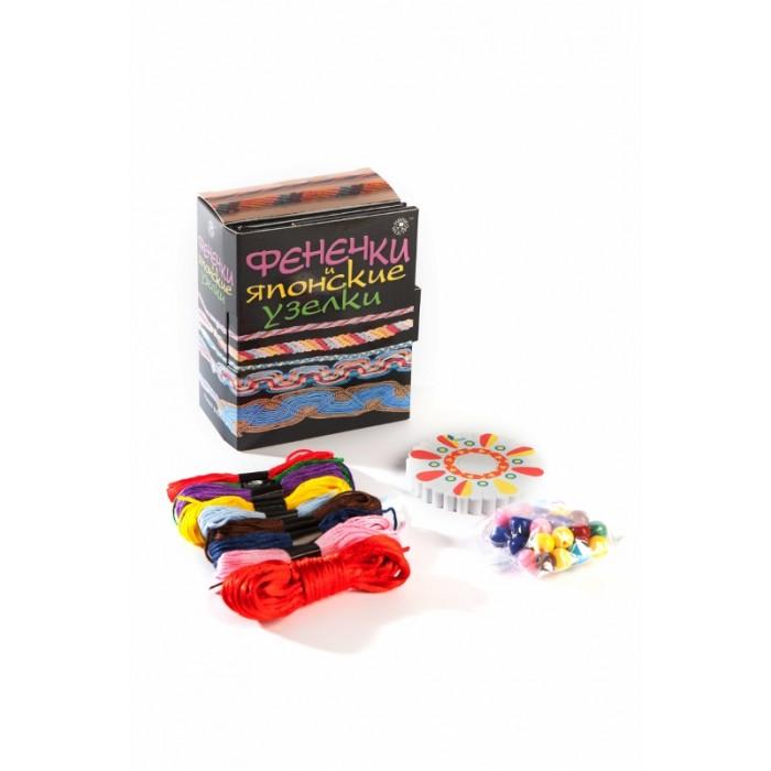 Наборы для творчества Мини-маэстро Фенечки и японские узелки наборы для творчества мини маэстро монстры из шариков