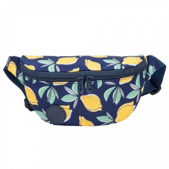 Купить Сумки для мамы, Grizzly Сумка поясная Лимоны PS-022-23