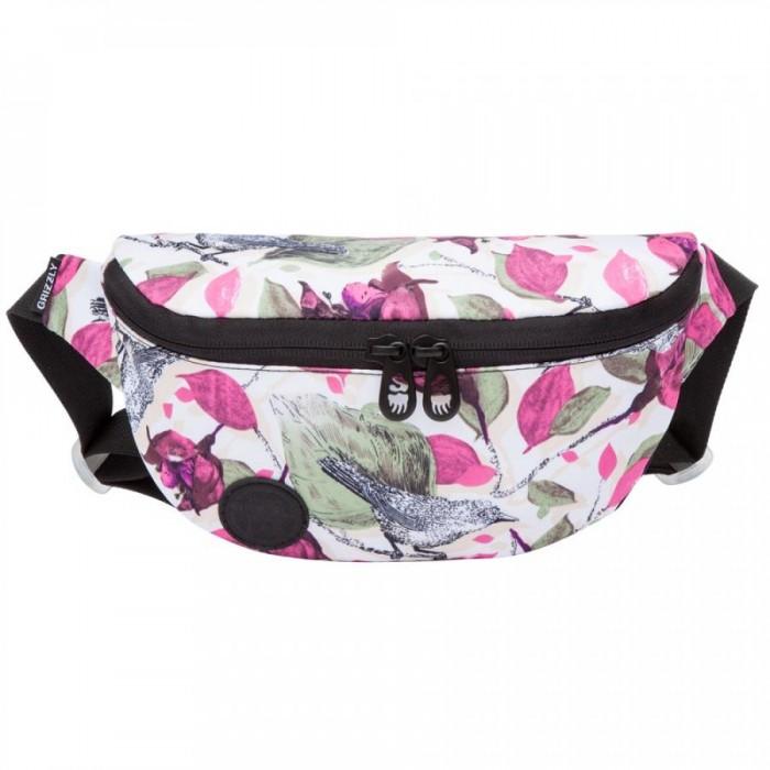 Купить Сумки для мамы, Grizzly Сумка поясная Цветы PS-022-31