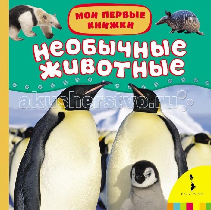 Книжки-картонки Росмэн Книжка Необычные животные книжки картонки росмэн книжка енот