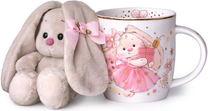 Посуда Budi Basa Набор подарочный: кружка и игрушка Зайка Ми
