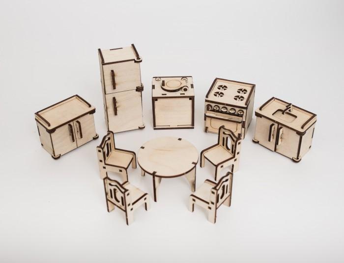 Кукольные домики и мебель Эlen Toys Сборная игрушка-мебель Кухня мебель для барби кухня paremo мебель для барби кухня