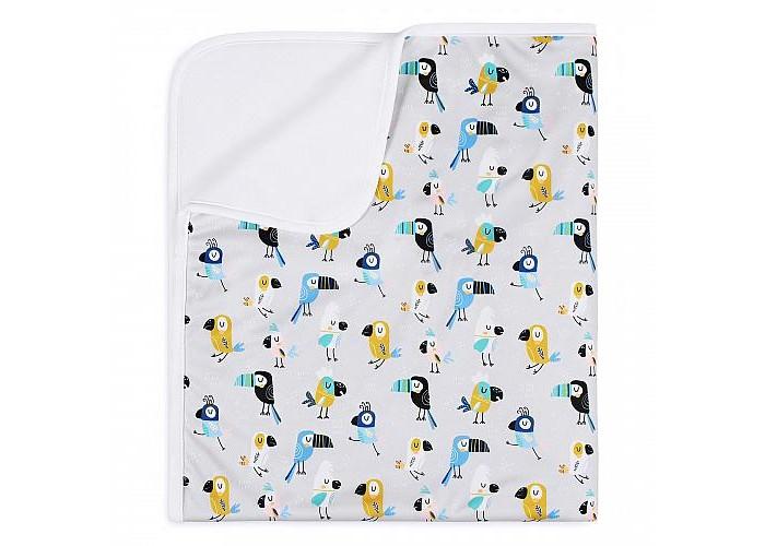 Купить Пеленки, Пеленка GlorYes впитывающая Свободу попугаям 120х100 см