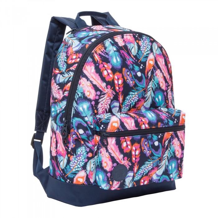 Школьные рюкзаки Grizzly Рюкзак Перья RX-022-8 рюкзак grizzly rx 022 8 1 перья