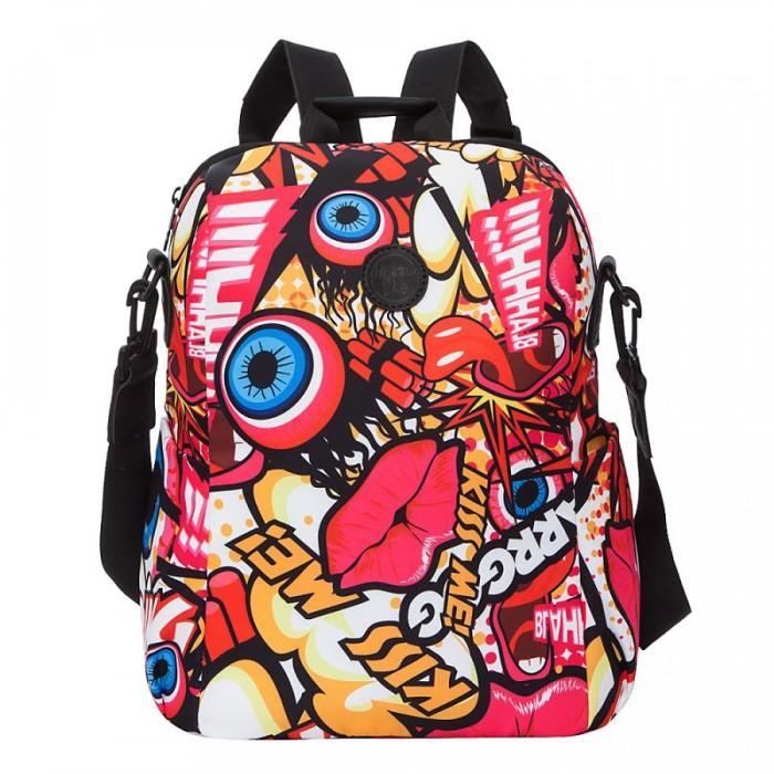 Купить Школьные рюкзаки, Grizzly Рюкзак Графити RXL-129-6