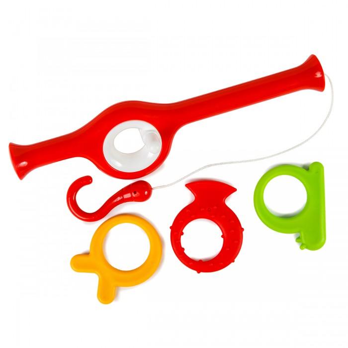 Купить Игрушки для ванны, ПОМА Набор игрушек На рыбалку 4 шт.