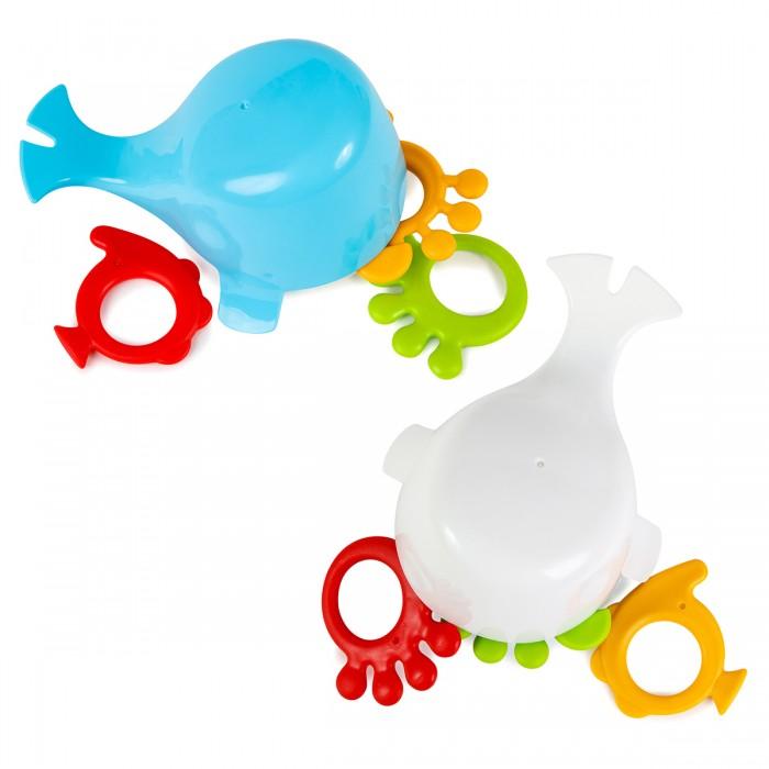 Игрушки для ванны, ПОМА Набор игрушек Китёнок и его друзья 4 шт.  - купить со скидкой