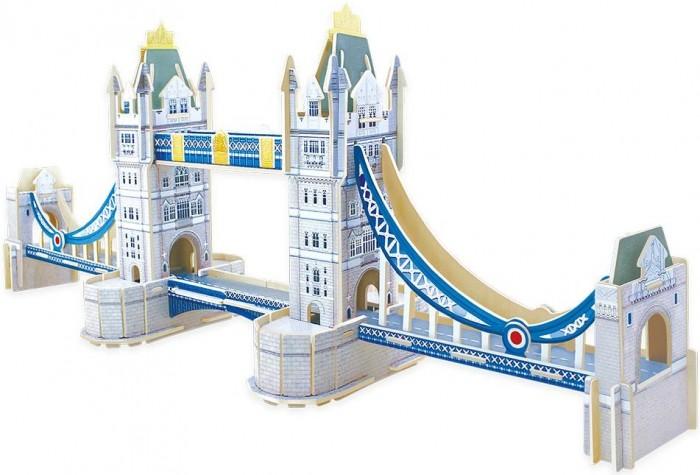 Картинка для Robotime Пазл деревянный 3D Тауэрский мост