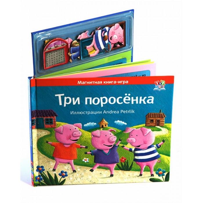 Развивающие книжки Магнитные книжки Три поросенка 4620757020777