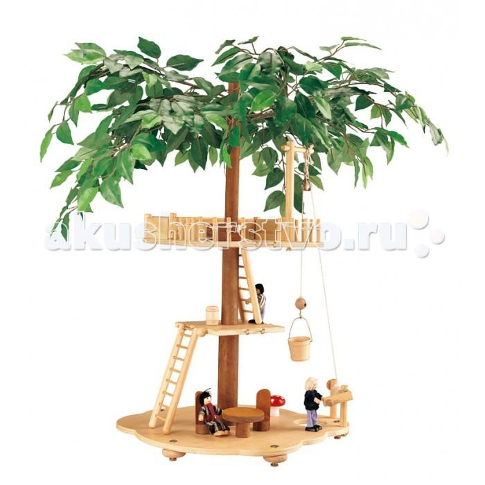 Balbi Игровой набор Домик на дереве TT-010Игровой набор Домик на дереве TT-010Balbi Игровой набор Домик на дереве TT-010. Интересный Дом на дереве для кукол, выполнен в виде нескольких площадок, расположенных на разных уровнях от земли. Великолепно создаёт атмосферу приключений и позволяет детям играть с фантазией.   В набор помимо дома входят: 3 фигурки людей, приставные лестницы, мебель, настоящий подъёмный механизм, а также сундучок.   Набор изготовлен из дерева, некоторые элементы из ткани, металла и пластика. Для сборки потребуется не более 10 минут, а качественная обработка всех деталей набора обеспечивает полную безопасность.<br>