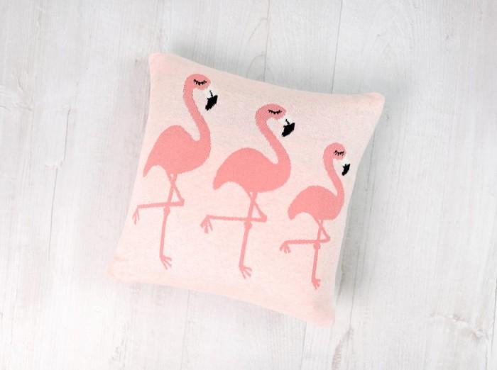 Подушки для малыша Bizzi Growin Подушка вязаная Flamingos
