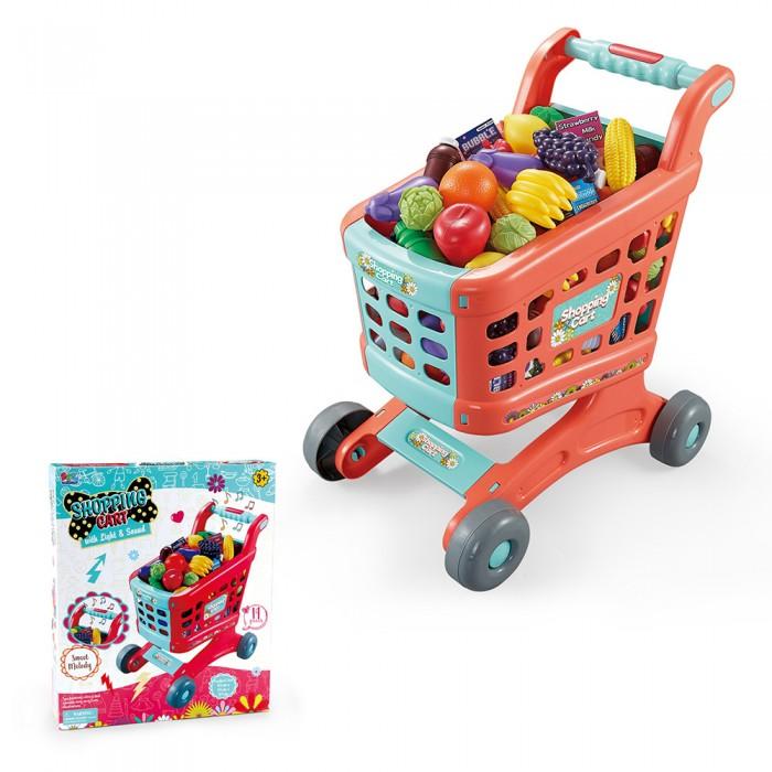 Фото - Ролевые игры Pituso Игровой набор Тележка для супермаркета (11 предметов) ролевые игры нордпласт набор фрукты овощи 13 предметов