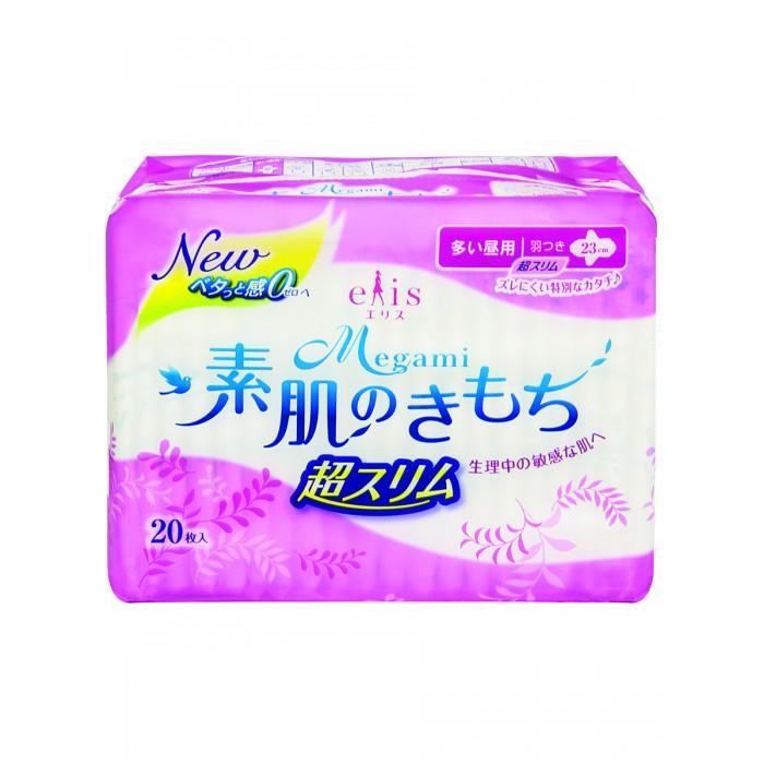 Купить Гигиенические прокладки, Elis Ультратонкие дневные гигиенические прокладки Megami 20 шт.
