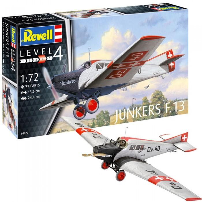 Картинка для Сборные модели Revell Набор со сборной моделью немецкий пассажирский самолёт Юнкерс F.13
