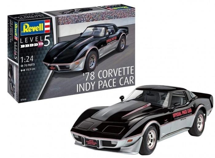 Купить Сборные модели, Revell Набор со сборной моделью автомобиль 78 Corvette C3 Indy Pace Car