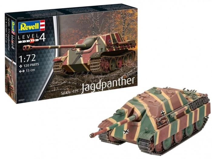 Сборные модели Revell Сборная модель Немецкая самоходно-артиллерийская установка Jagdpanther Sd.Kfz.173