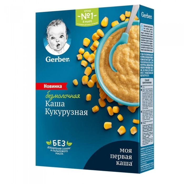 Каши Gerber Каша безмолочная Кукурузная 180 г
