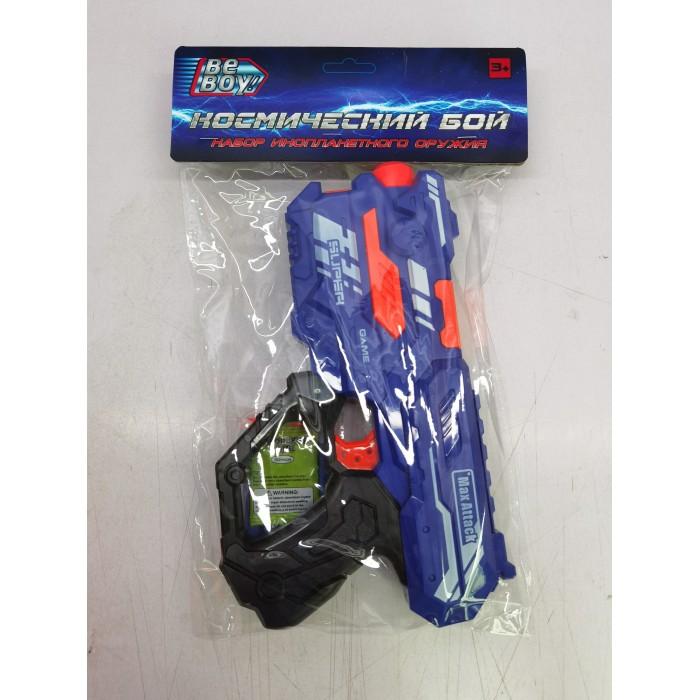 Игрушечное оружие BeBoy Набор Космический бой IT106396 игрушечное оружие beboy космический бой бластер меч аксессуары
