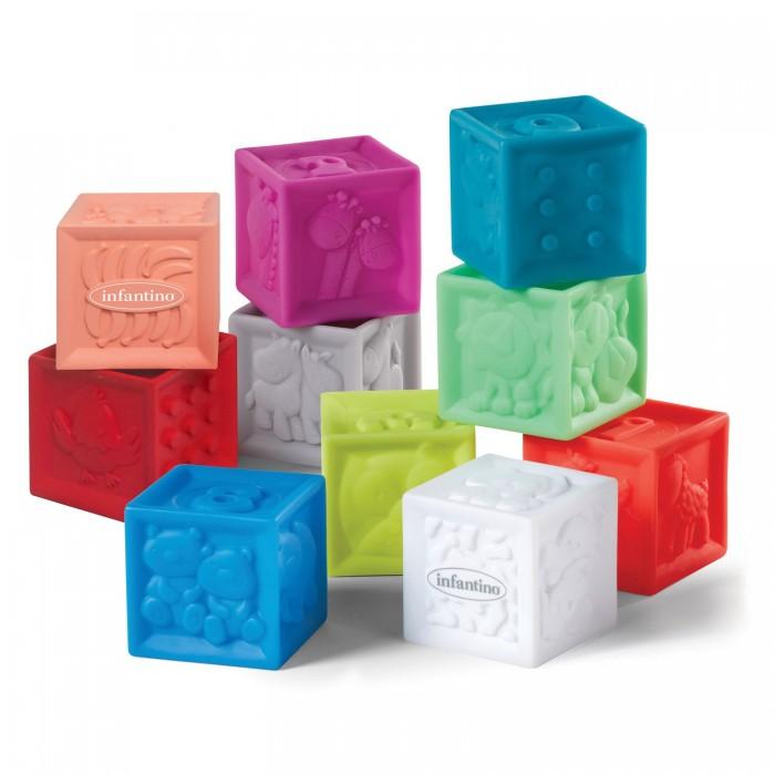 Развивающие игрушки Infantino кубики Squeeze & Stack