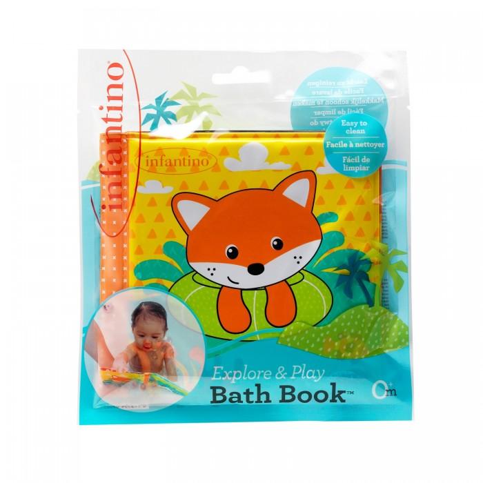 игрушки для ванны Игрушки для ванны Infantino Мягкая книжка для ванны