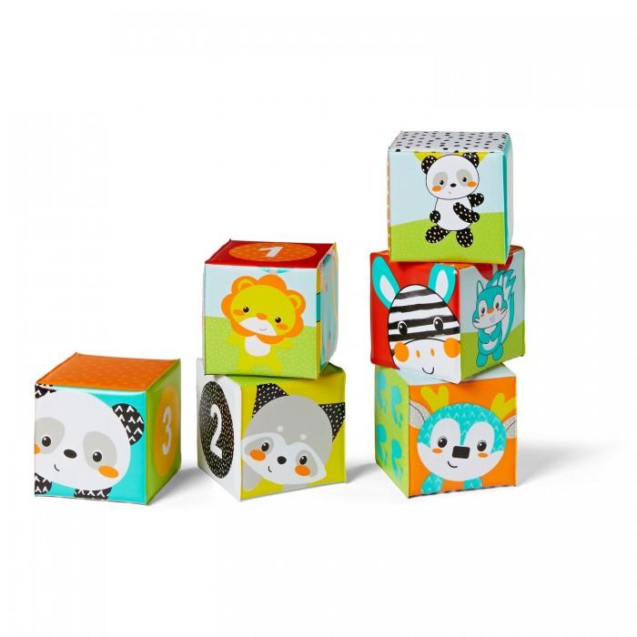 Картинка для Игрушки для ванны Infantino Мягкие кубики для ванны Цвета и числа