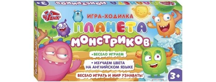Игры для малышей Ranok-creative Настольная игра Планета монстриков