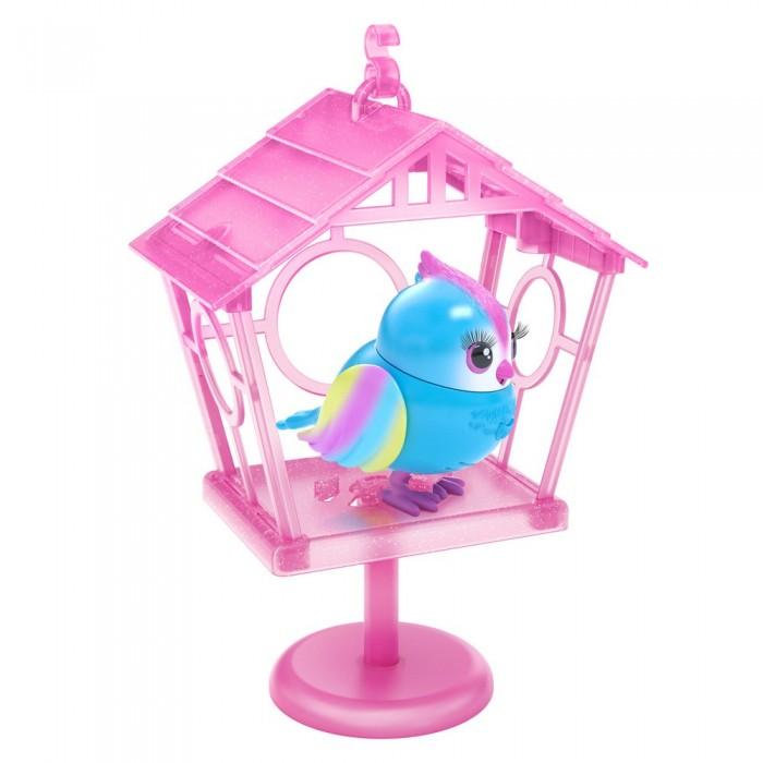 Интерактивная игрушка Moose Птичка в скворечнике Little Live Pets Твитти-Радуга