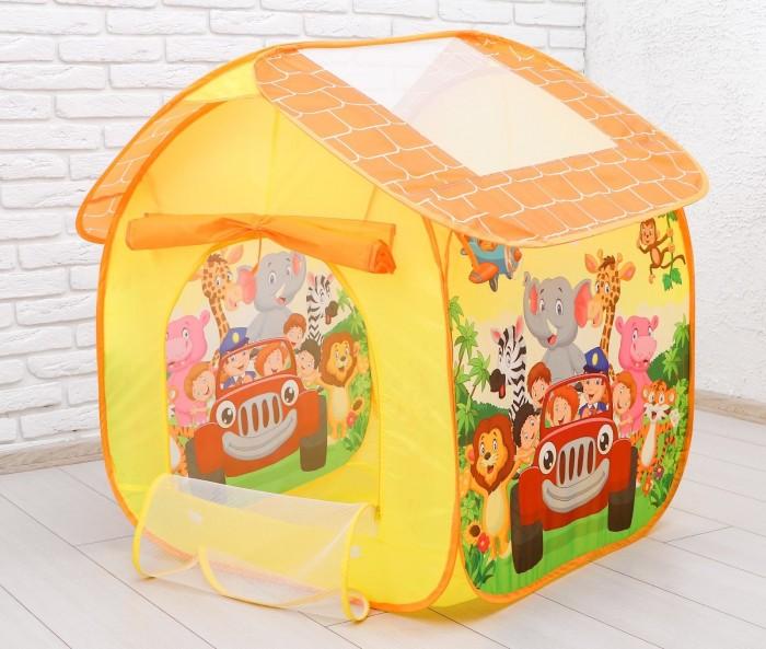 Палатки-домики Рыжий кот Палатка игровая Зоопарк домик